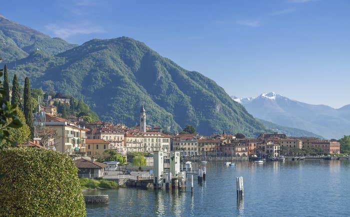 Lake Como (Lombardia).