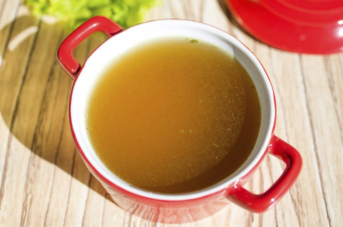 Soups are often the easiest, healthiest, and most comforting option, especially after a long day. You should also keep some chicken (or vegetable) broth handy to help thin out heavy sauces or add moisture and flavor to any recipe.