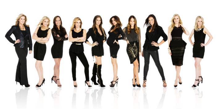 The new reality show from Canada is being described as Hockey meets The Real Housewives.