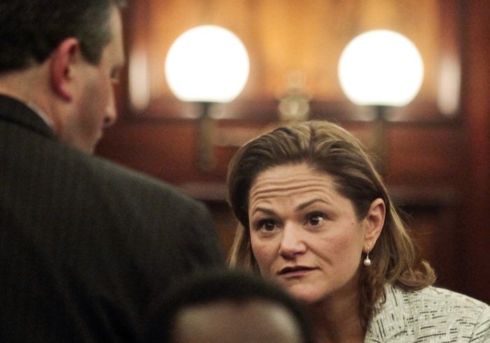 New York City Council speaker Melissa Mark-Viverito, who pushed for the initiative.