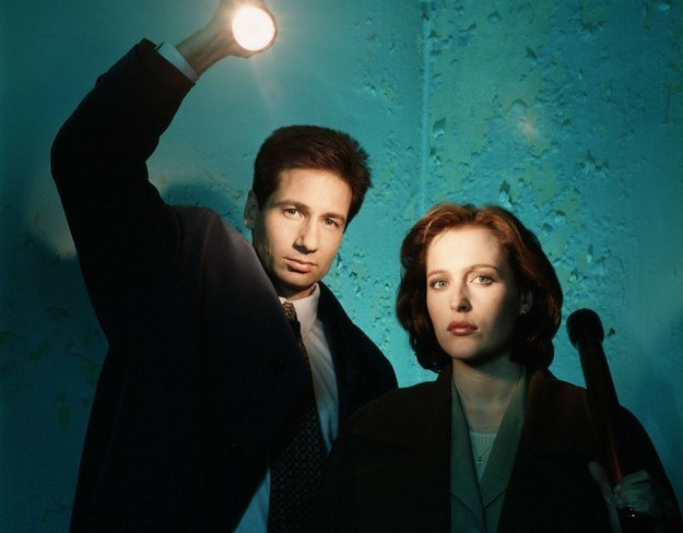 """The X-Files"" Is Coming Back To TV With Gillian Anderson And David Duchovny"
