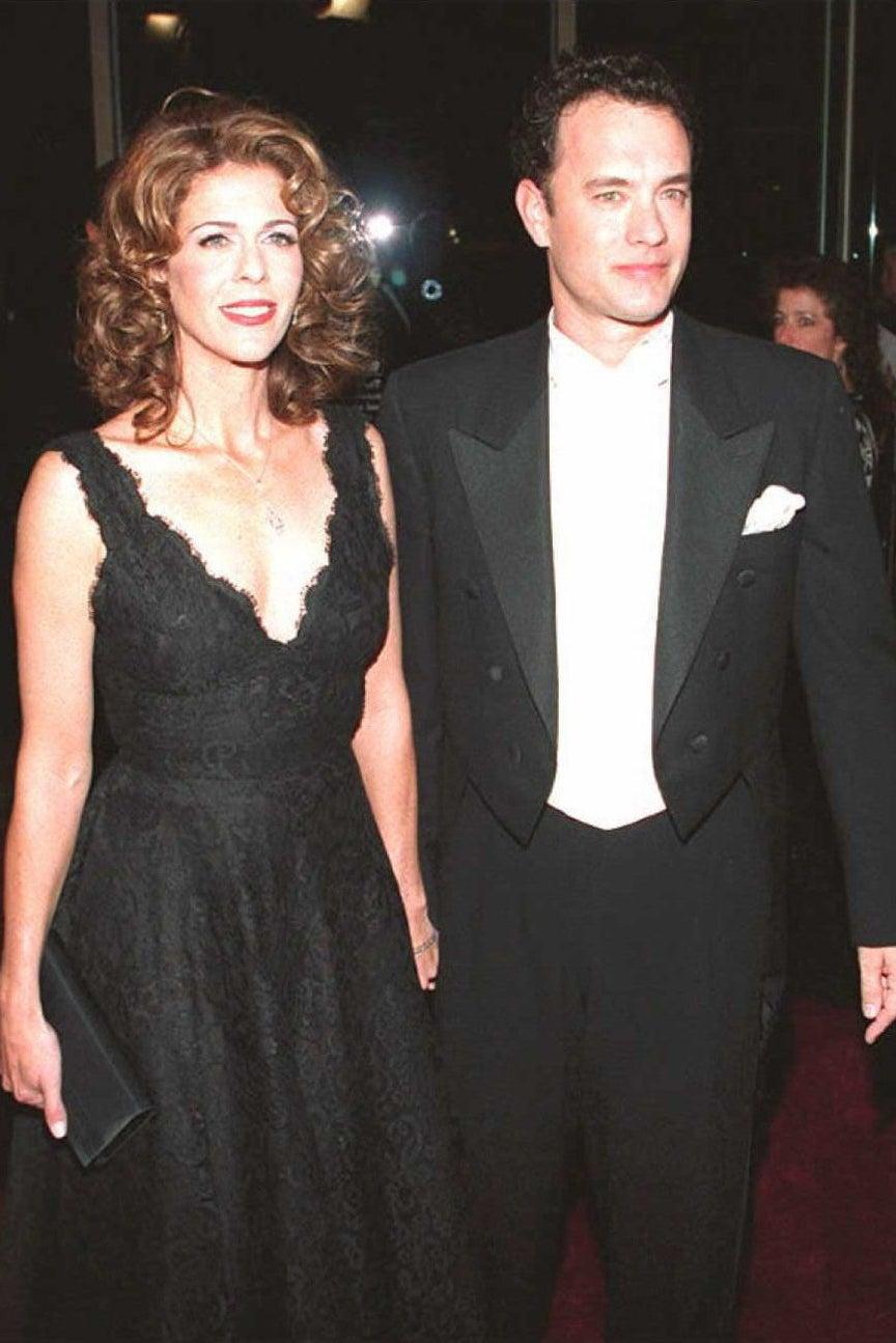 The couple circa 1995.