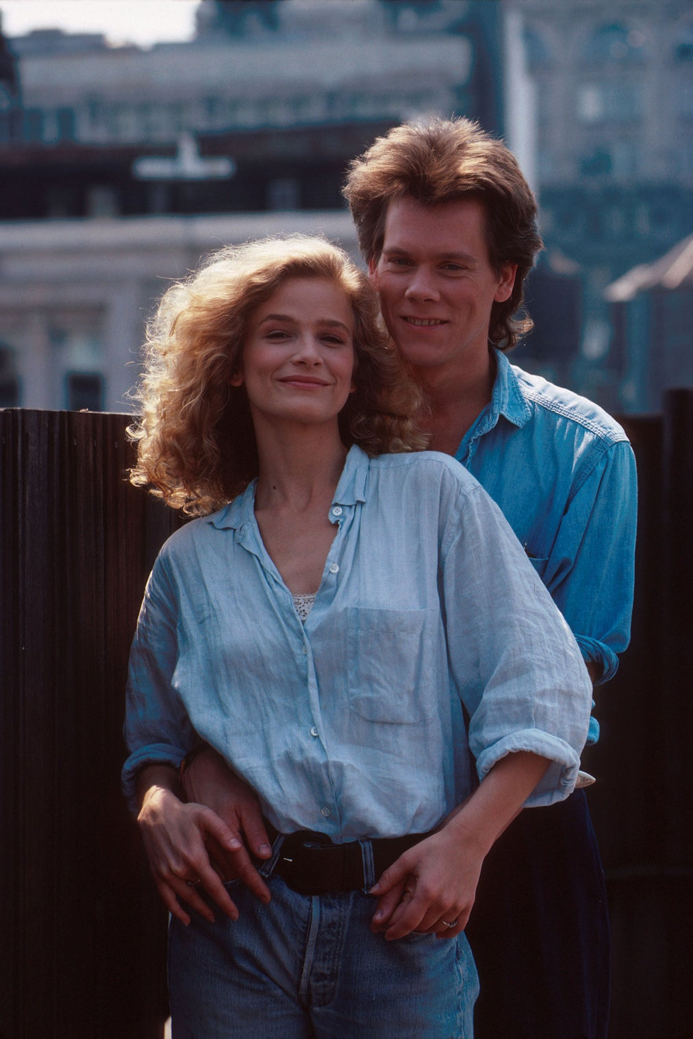 The couple in 1988.