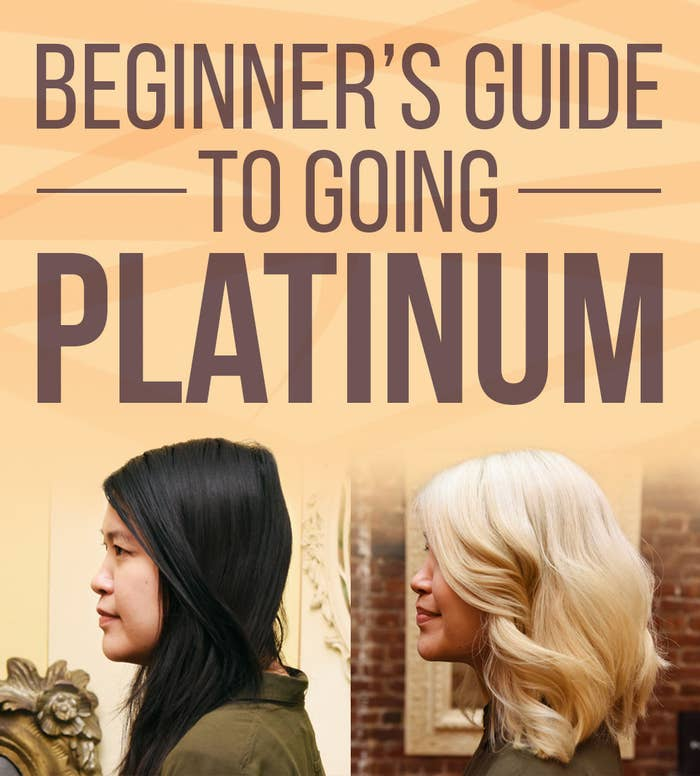 Here Is Everything You Need To Know About Going Platinum Blonde