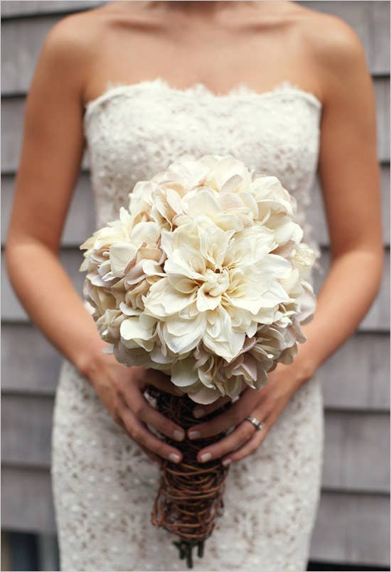 If you've been on Pinterest in the past couple years, you've probably seen this bouquet. Get the tutorial here.