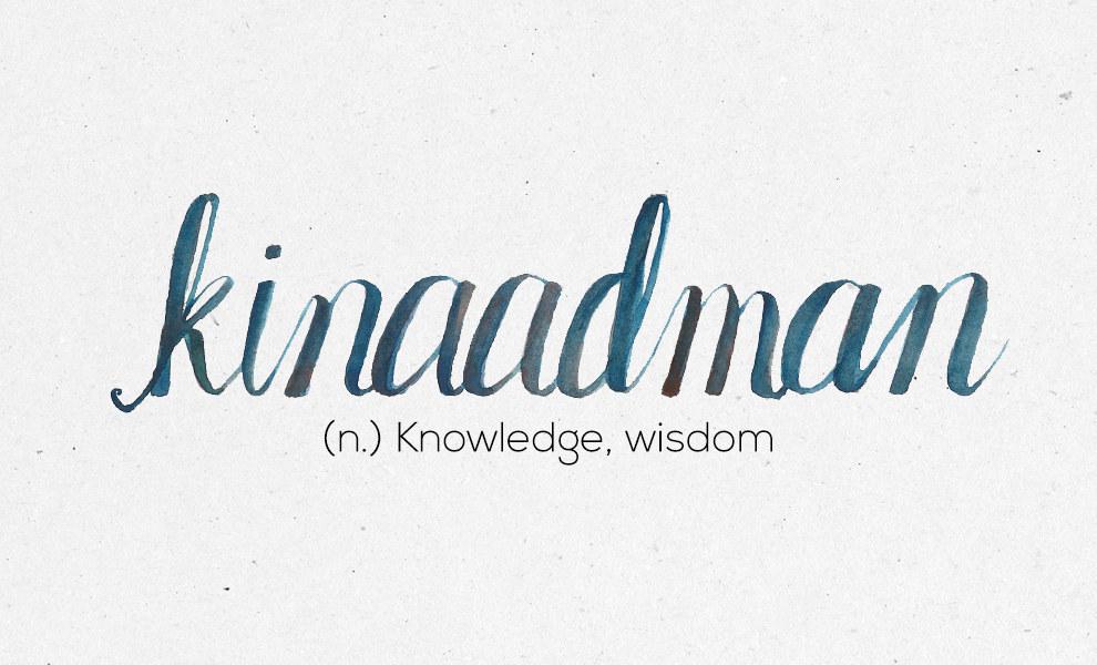 """""""Kinaadman"""""""