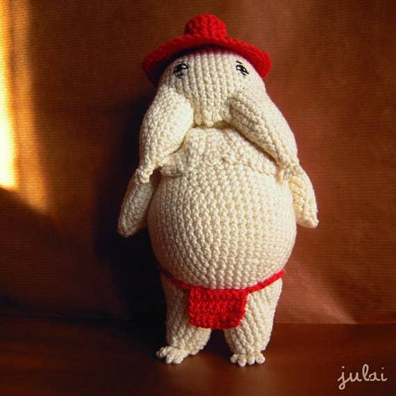 Wendy Li - Princess Mononoke - Chinese-Knitting and Crochet ... | 570x570