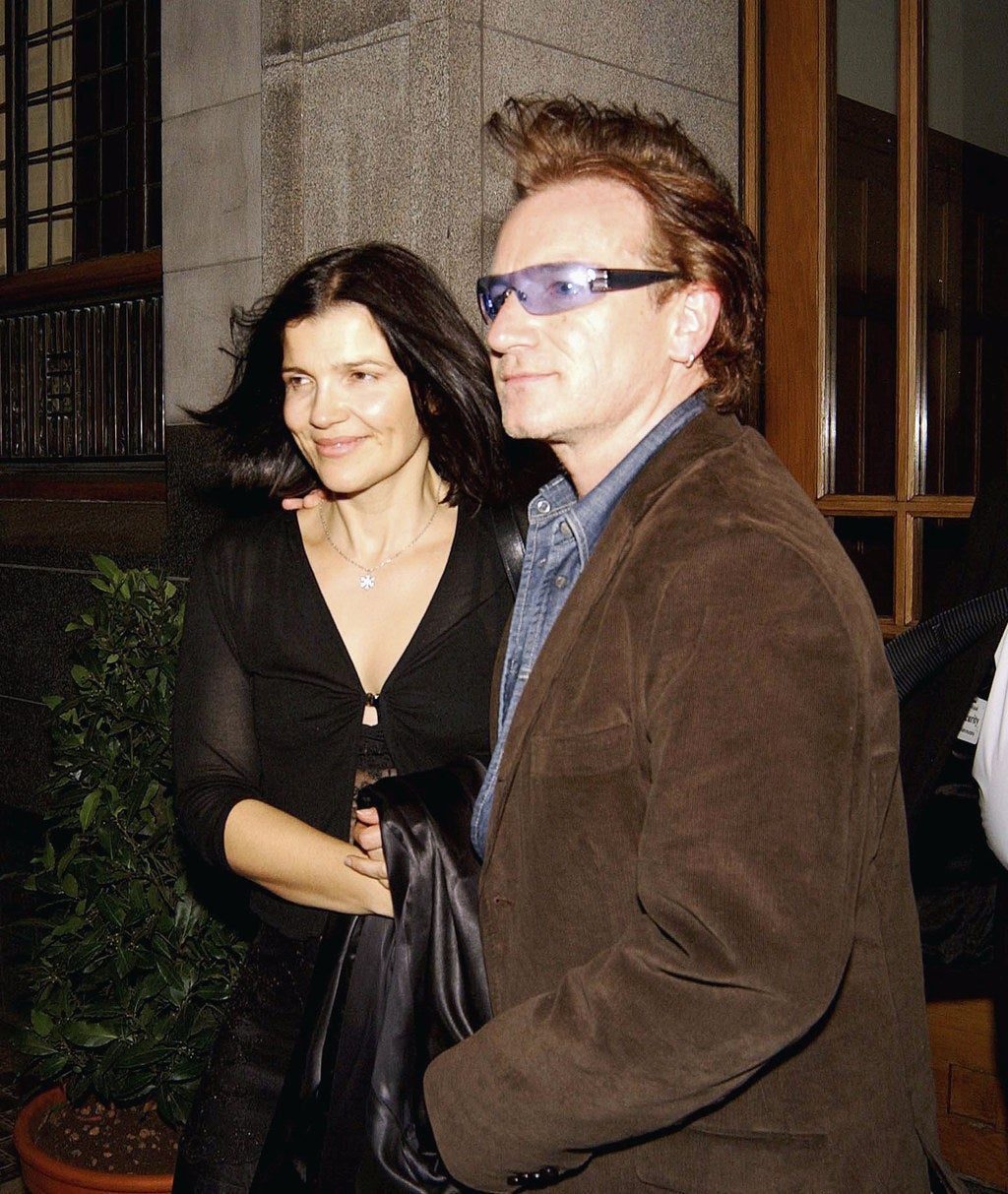 The couple in 2003.