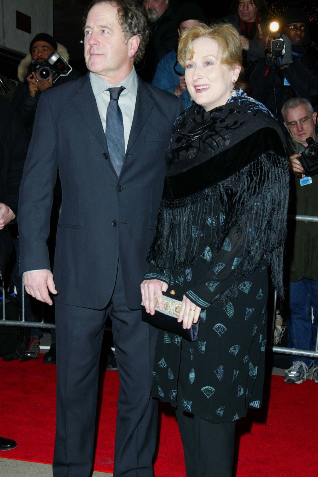 The couple in 2002.