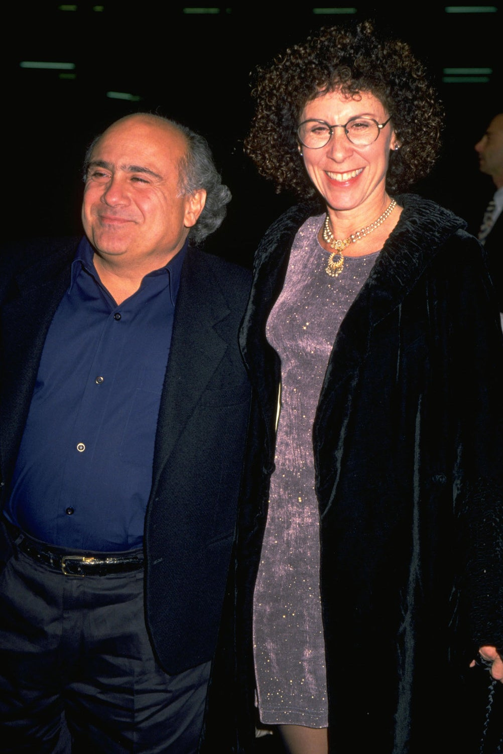 The couple in 1999.