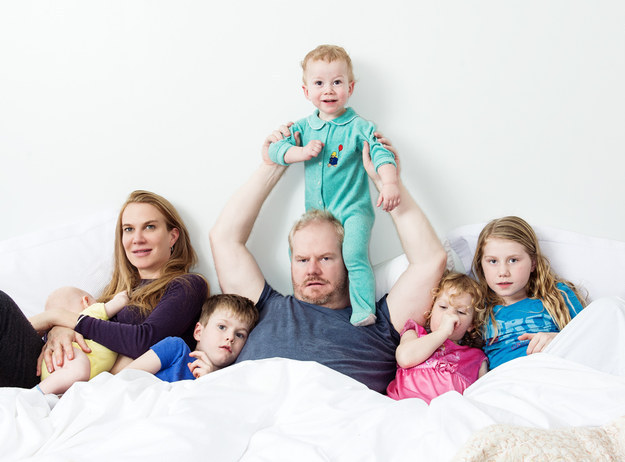 Photo of Jim Gaffigan & his  Son  Jack Gaffigan
