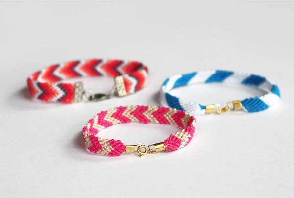 Make Your Friendship Bracelet Easier To Take On And Off By Adding A Clasp