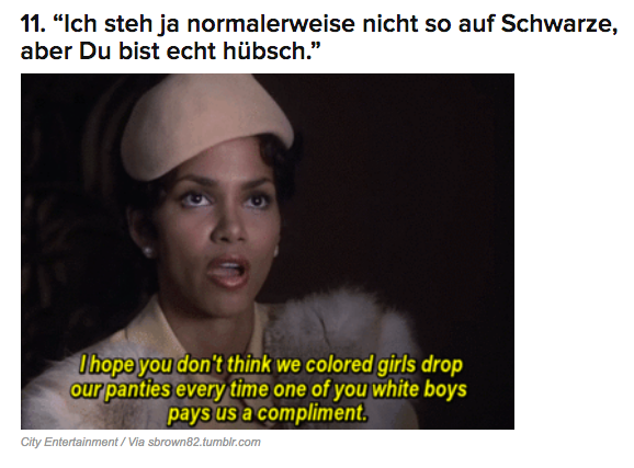 """As Facebook commenter Mina Guivala said in the comments section: """"Ich hab noch nie nen akurateren Post bei Buzzfeed gesehen!"""" Translation: I've never seen a more accurate post on BuzzFeed!"""