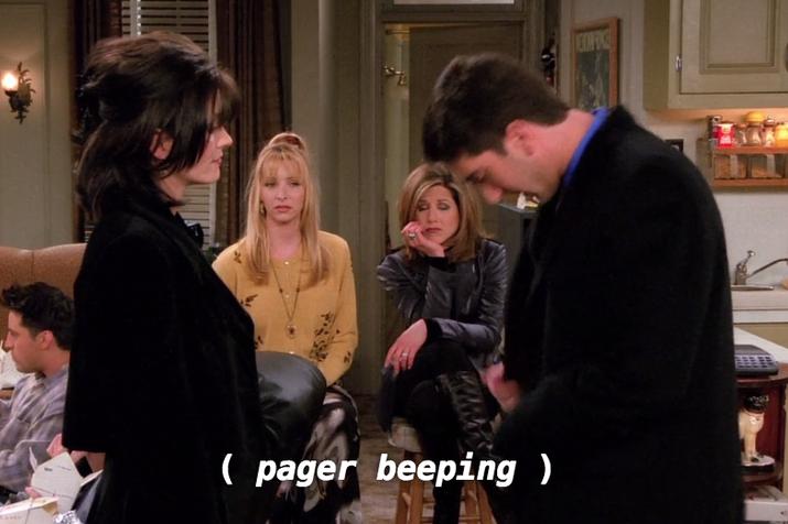 De 'Aquele em que Ross e Rachel... Você Sabe'.