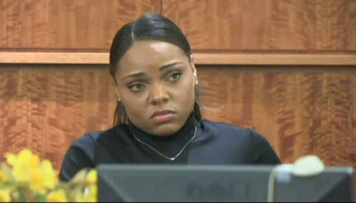 Jenkins says after the initial police questioning, she went to meet up with  Ernest Wallace on Hernandez's direction. During her grand jury testimony,  ...
