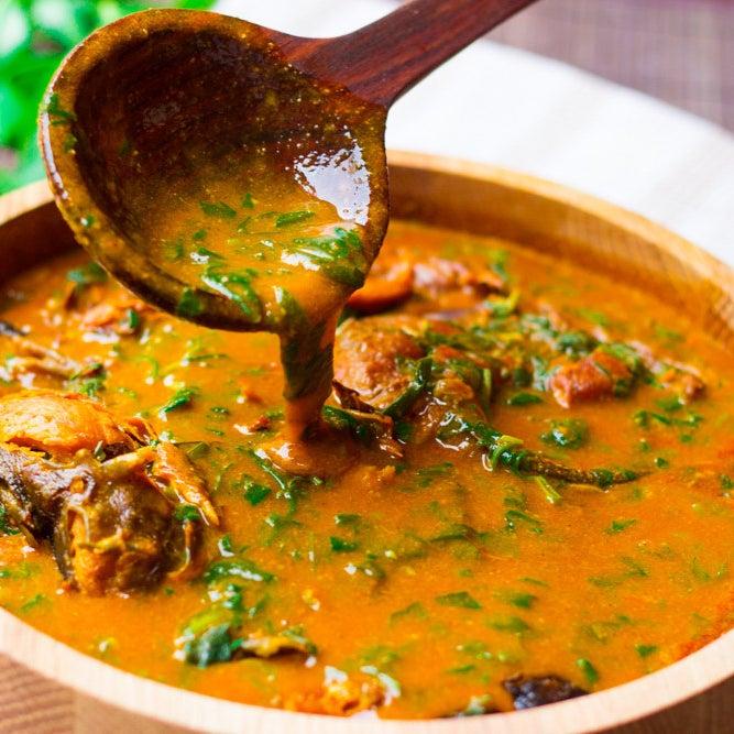 Ogbono (Apon) Soup