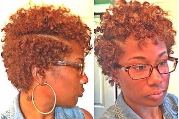 Terrific 20 Effortless Styles For Growing Out Your Natural Hair Hairstyle Inspiration Daily Dogsangcom