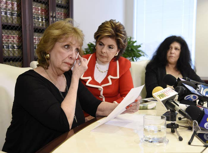 Sunni Wells, Gloria Allred, and Margie Shapiro.