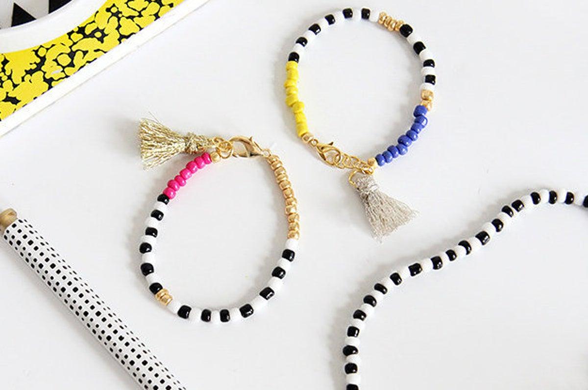 woven bracelet with rhinestone. Minimalist rhinestone bracelet friendship bracelet with rhinestone