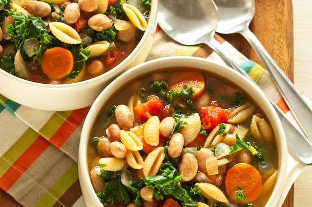 This dish will remind you why beans and pasta are such good buds. Get the recipe.