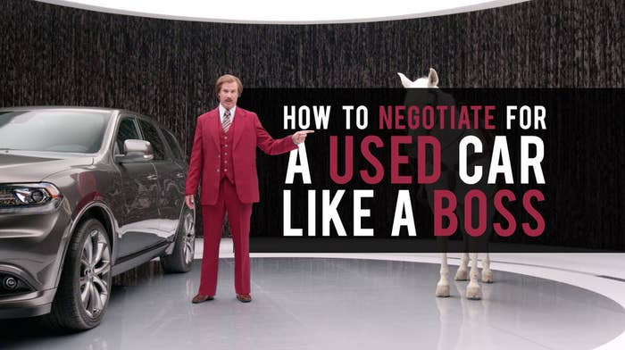 Here's How To Negotiate For A Used Car Like A Boss