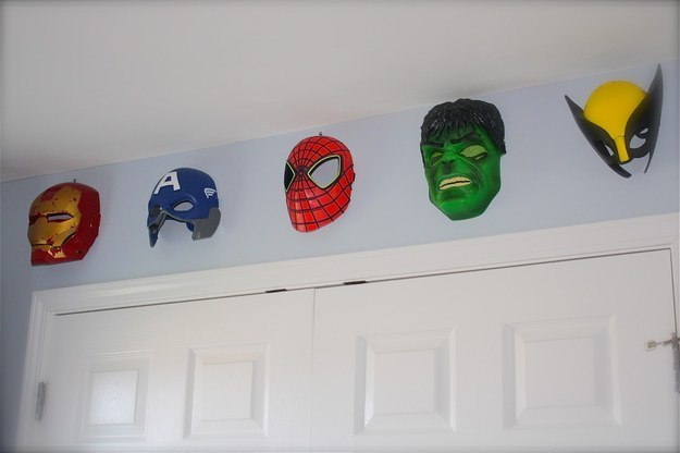 23 ideas for making the ultimate superhero bedroom for Buzzfeed room decor quiz