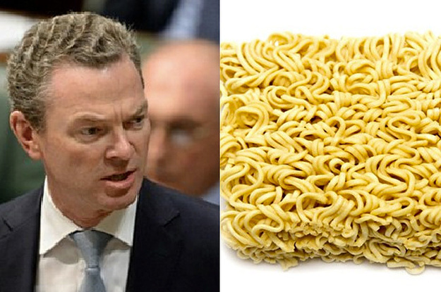 christopher pynes hair looks like maggi noodles