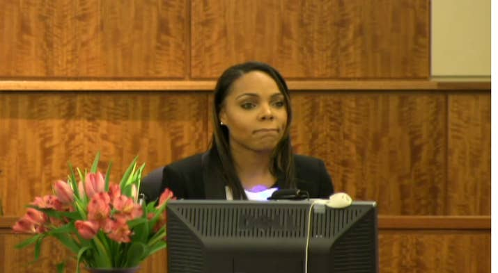 Shayanna says she received a call from Hernandez on June 18 instructing her  to remove a cardboard box from their home. She says he told her it was