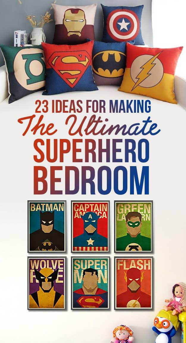 Interior Superhero Bedroom Ideas 23 ideas for making the ultimate superhero bedroom share on facebook share