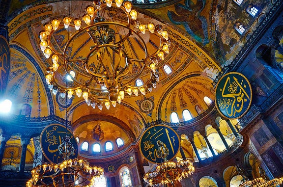 Hagia Sofia in Istanbul.