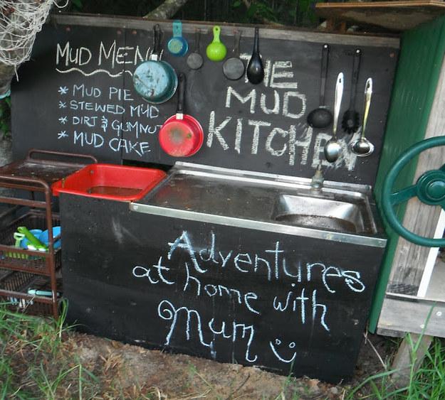 Mud Kitchen Signs: 10 Creative DIY Mud Kitchen Ideas Your Children Will Love