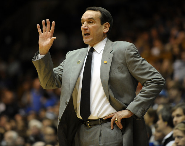Let's start with the obvious: Coach K... the man, the legend, and our fearless leader to five NCAA championships.