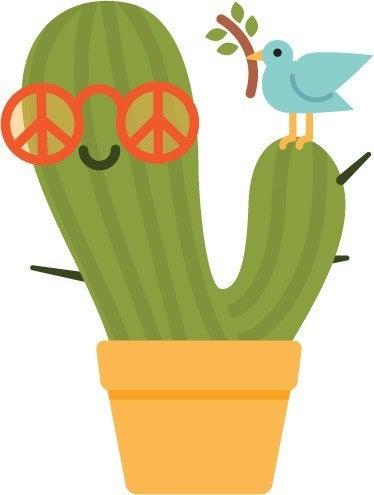Pacifist cactus