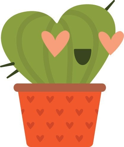 In love cactus