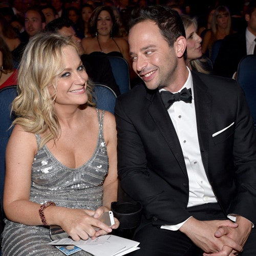 Amy Poehler with Kroll, 2014