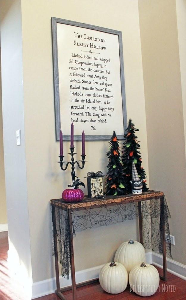 Convierte la página favorita de tu libro favorito en una pieza de gran tamaño de la decoración de pared.