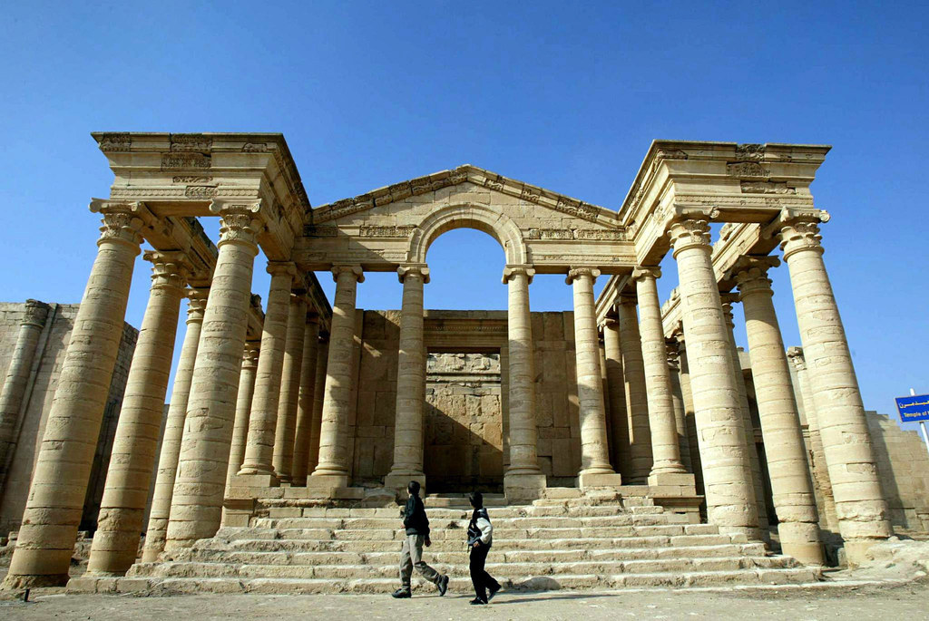 ISIS Destroys Ancient World Heritage Site Of Hatra In Iraq