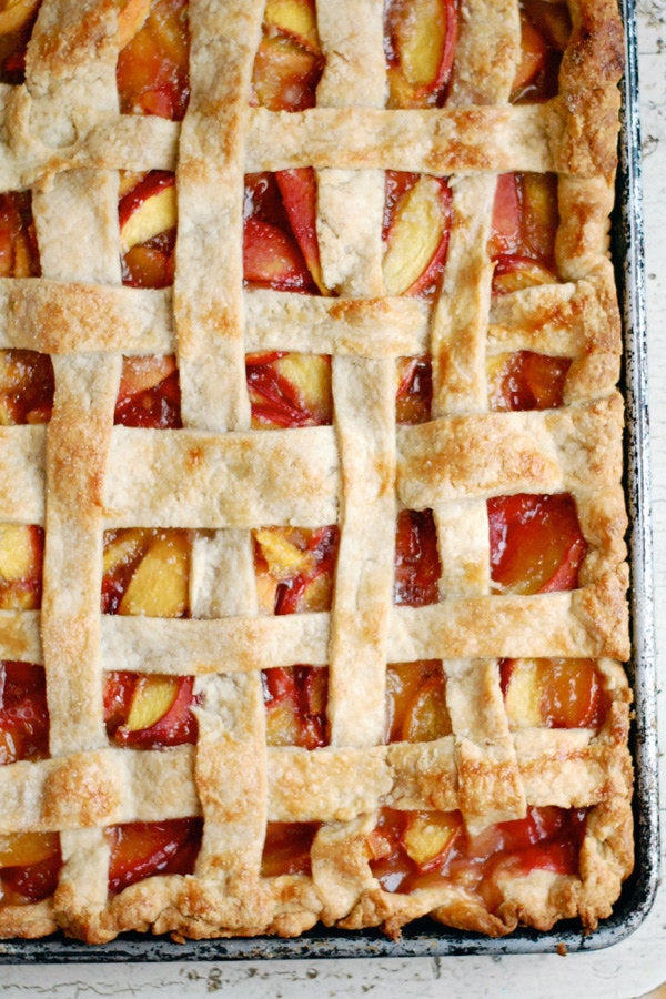Slab pies = more joy for more people. Get the recipe.