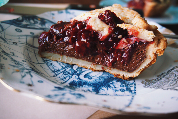 Chocolate AND cherries? GO AHEAD, HAVE IT ALL. Get the recipe.