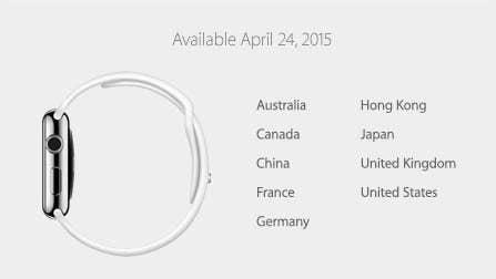 abe21a60b9f 1. O relógio da Apple ainda não tem data de lançamento para o Brasil.
