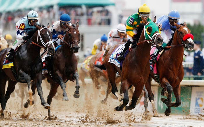 Event: Kentucky DerbyWoo! Like all sports, horse racing is a lot more fun if you're gambling! And you'd better have a good betting strategy because, remember, you quit your job to watch sports last month.