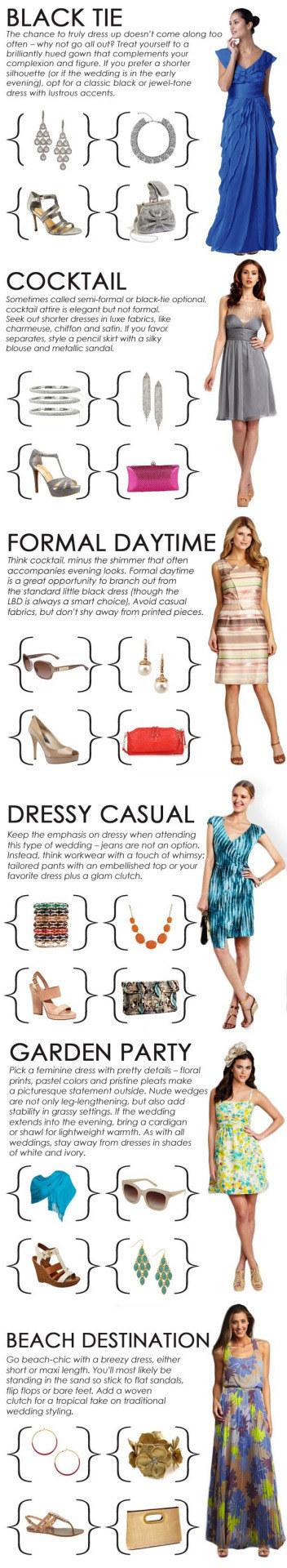 Dress code pastel color chart