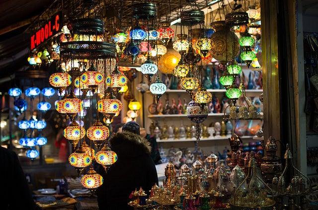 Grand Bazaar in Istanbul.