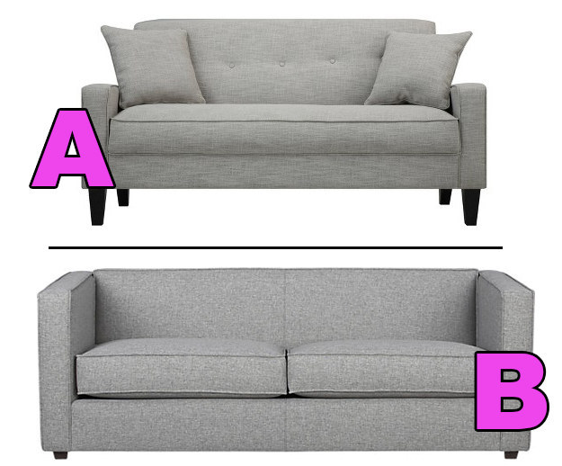 Which Couch Costs More?