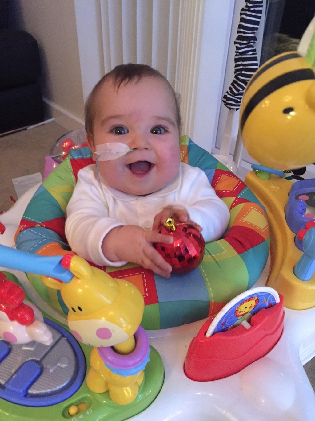 This Miracle Baby Has Survived A Stroke, Nine Operations And Had To Be Resuscitated Three Times