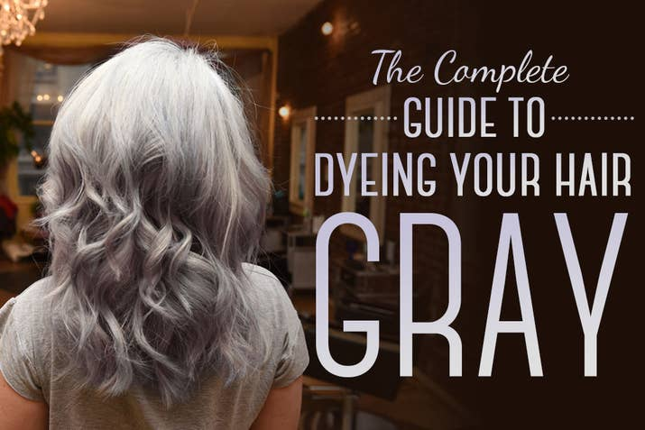 Here is every little detail on how to dye your hair gray we asked buzzfeed style editor julie gerstein to walk through process of going gray from start to finish solutioingenieria Gallery