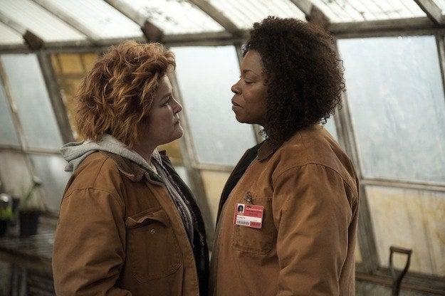 """A few days after Orange Season 2 was released in June 2014, Toussaint told BuzzFeed News she didn't know her character's fate. """"We're not sure if Vee is dead,"""" the actor said. """"She could be dead, she could not be dead. That's an open-ended question still. Isn't that a scary proposition? She might need to be dead. I don't know.""""And in October 2014, TMZ reported that Toussaint was on set of Orange filming scenes for Season 3. However, at the time, Netflix told BuzzFeed News the villain wouldn't be in Season 3."""