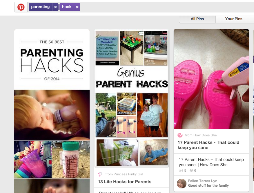 This Is The Most Popular Parenting Hack On Pinterest