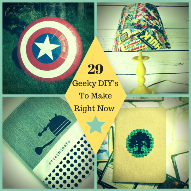 29 geek diy 39 s to make right now for Room decor ideas for nerds