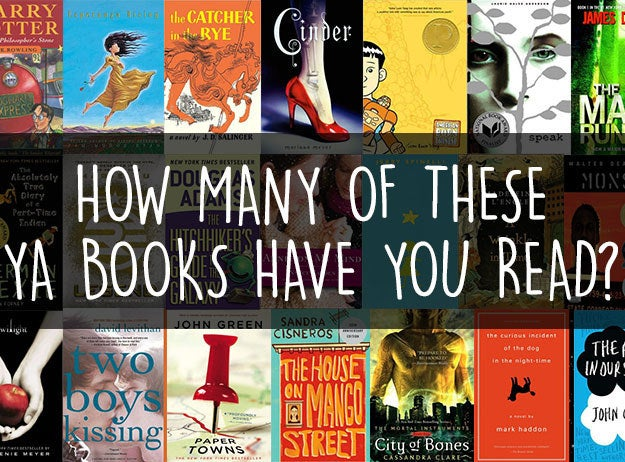 How Many Of These Young Adult Books Have You Read
